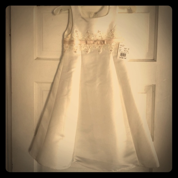 Davids bridal dresses davids bridal flower girl dress nwt poshmark davids bridal flower girl dress nwt mightylinksfo